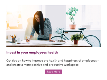Employee health email